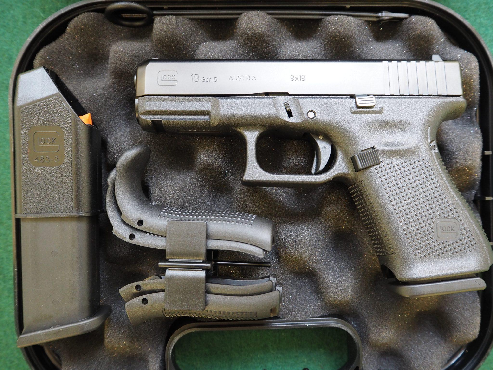 Glock 19 Gen 5 (dzt. ausverkauft!)